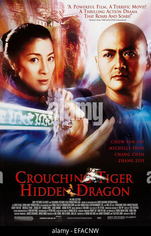 Crouching Tiger Hidden Dragon 2000 Chow Yun Fat Tige 007 Stock Photo Royalty Free Image