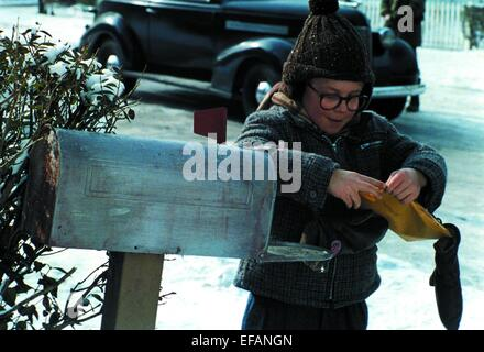 peter billingsley a christmas story 1983 stock photo. Black Bedroom Furniture Sets. Home Design Ideas