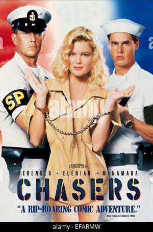 ERIKA ELENIAK CHASERS (1994 Stock Photo - Alamy