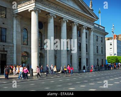 GPO O'Connell Street Dublin Ireland - Stock Photo