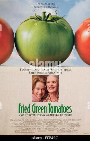 MOVIE POSTER FRIED GREEN TOMATOES AT THE WHISTLE STOP CAFE (1991) - Stock Photo