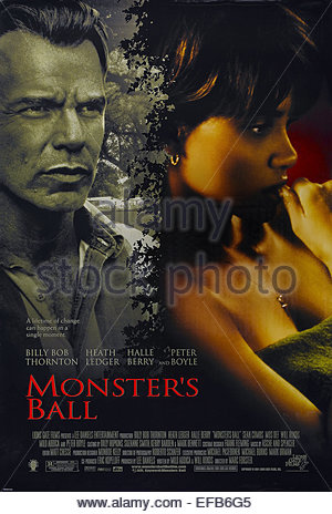 movie poster monsters ball 2001 stock photo royalty
