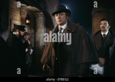 MICHAEL CAINE, LEWIS COLLINS, JACK THE RIPPER, 1988 - Stock Photo