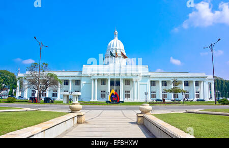 Colombo city town hall building, the headquarters of Colombo municipal council, Sri lanka - Stock Photo