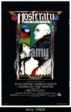 MOVIE POSTER NOSFERATU THE VAMPYRE (1979)