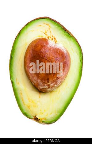 half of an avocado - Stock Photo