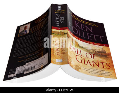 Fall of Giants, the first book of Ken Follett`s Century Trilogy - Stock Photo