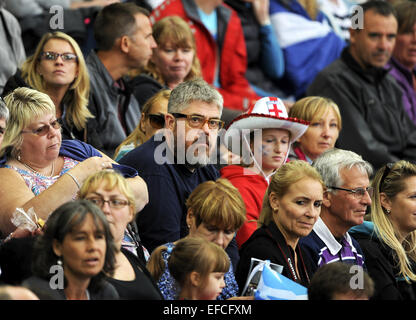 Sightings at the Commonwealth Games, Glasgow, Scotland  Featuring: Phill Jupitus Where: Glasgow, United Kingdom - Stock Photo