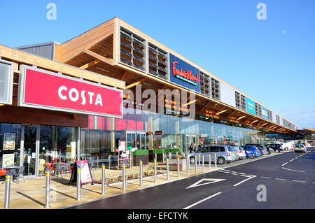 Costa coffee shop The Bishop Centre Taplow Buckinghamshire
