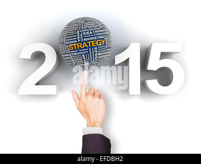 Setting your 2015 business strategy - Stock Photo