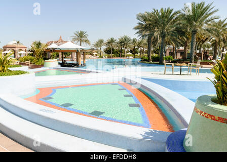 Swimming Pool In Emirates Palace Hotel Abu Dhabi United Arab Stock Photo Royalty Free Image