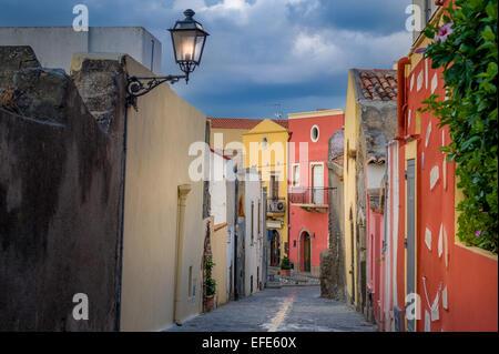 Milazzo old street - Stock Photo