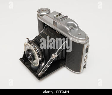 Kershaw 110 folding camera, first made in 1954 by G B Kershaw of Leeds in England. - Stock Photo