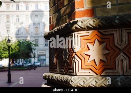 Great Synagogue, Dohány street, Budapest, Hungary - Stock Photo