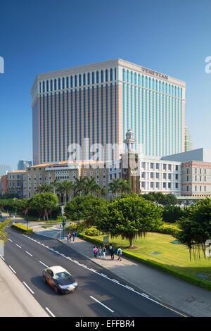 Venetian Hotel, Taipa, Macau, China - Stock Photo