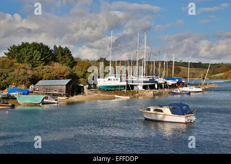 St Just in Roseland Cornwall; UK - Stock Photo