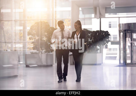 Business people meeting and sharing ideas - Stock Photo