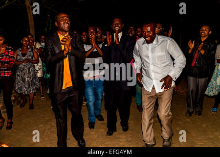 A Wedding Party In Arba Minch, Ethiopia - Stock Photo