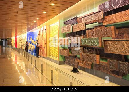 Mumbai, Maharashtra, India. 24th Dec, 2014. 24 december 2014 - Mumbai - INDIA :.A Art installation at Mumbai's classy - Stock Photo