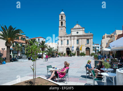 Church of the Trimartyri, Chania, Crete, Greece - Stock Photo