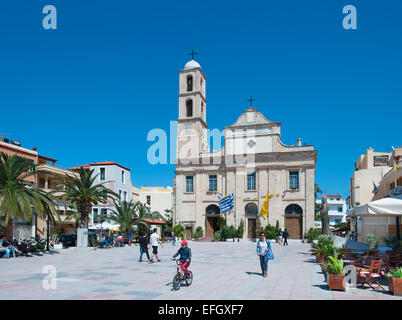 Church of the Trimartyri, Chania, Crete, Greece - Stock Photo