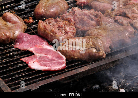 Grilled Steak. - Stock Photo