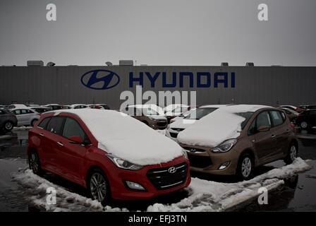 Hyundai Motor Manufacturing Czech Stock Photo Royalty
