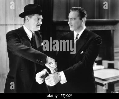 LIONEL BARRYMORE, JOHN BARRYMORE, ARSENE LUPIN, 1932 - Stock Photo