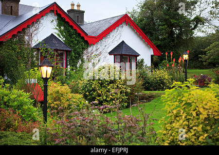 Killeen House Hotel in Killarney. - Stock Photo