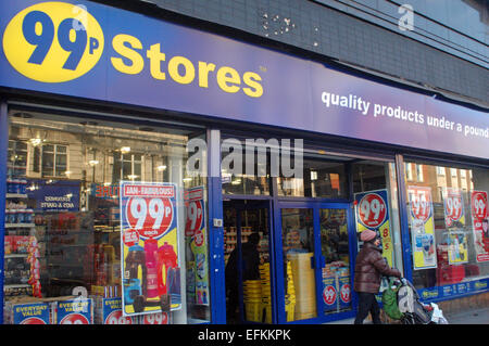 London, UK. 6th February, 2015. Poundland to buy 99p Stores which has 251 shops for £55 million. Credit:  JOHNNY - Stock Photo