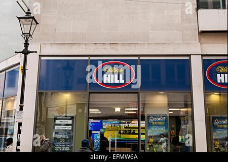 William hill bookmakers Birmingham - Stock Photo