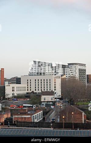 Birmingham uk city cityscape central england - Stock Photo