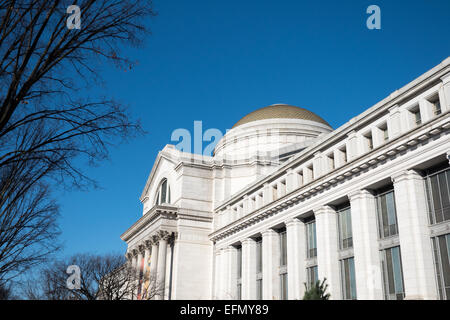 WASHINGTON DC, USA - The exterior of the Smithsonian National Museum of Natural History on the National Mall in - Stock Photo