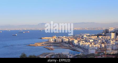 Port, Algiers, Algiers Province, Algeria - Stock Photo