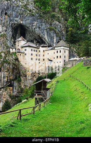 Predjama Castle (Predjamski grad), Predjama, Slovenia, Europe - Stock Photo