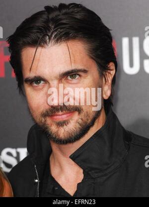 Los Angeles, CA, USA. 9th Feb, 2015. Juanes at arrivals for MCFARLAND Premiere, El Capitan Theatre, Los Angeles, - Stock Photo