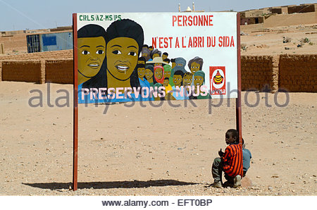 Republic Of Niger NER Western Africa Sahara Desert 2007 People Person Children Kids Architecture And Buildings Homes - Stock Photo