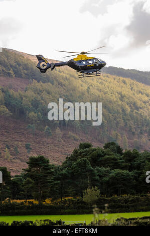 G-PSNI, a EC35 Eurocopter, one of two used by the Police Service of Northern Ireland. - Stock Photo