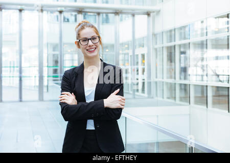 Portrait of businesswoman - Stock Photo