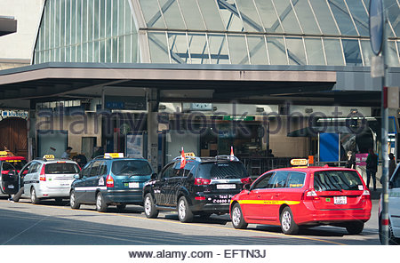 Saint Gallen Swiss Village Switzerland St Nobody Swiss Taxi Taxis Hbf Hauptbahnhof Main Train Station Cars Car Automobiles - Stock Photo