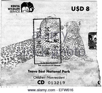 Kenya - Republic of Kenya Africa 2000 African Adventure Travel - Stock Photo