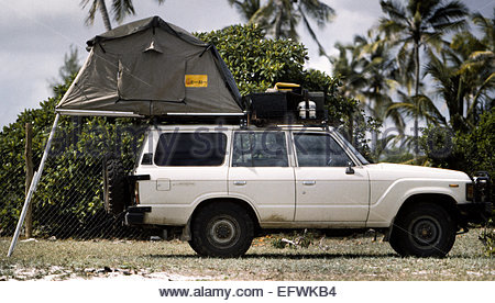 ... Roof Tent Rooftop tents Top Ladder C&ing Equipment 4x4 Safari Jeep United Republic of Tanzania TZA & Camping with a 4x4 and roof top tent in a rocky part of Angolau0027s ...