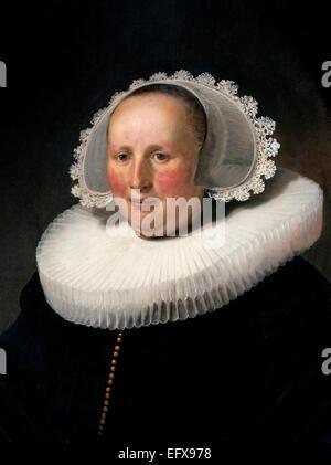 Portrait of Maertgen van Bilderbeecq 1633 Rembrandt Harmensz. van Rijn 1606–1669 Dutch Netherlands - Stock Photo