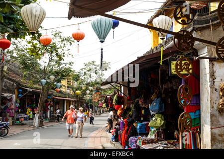 street scene, Hoi An, Vietnam. - Stock Photo