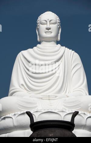 Vietnam, Nha Trang, Long Son Pagoda Buddha - Stock Photo