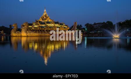 Lake Kandawgyi - Stock Photo