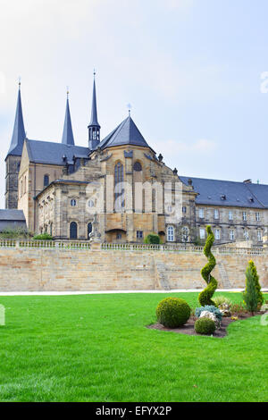 Former Benedictine monastery in Bamberg, Bavaria, Germany - Stock Photo