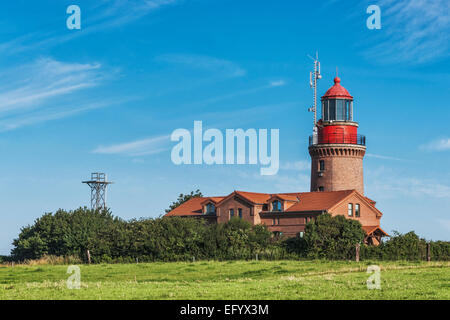 The lighthouse of Bastorf is located at the Baltic Sea, Rostock, Mecklenburg-Western Pomerania, Germany, Europe - Stock Photo