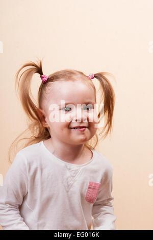 Tricky Girl - Stock Photo