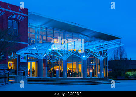 ACT, Arts Centre and Theatre Complex, District of Maple Ridge, British Columbia, Canada - Stock Photo